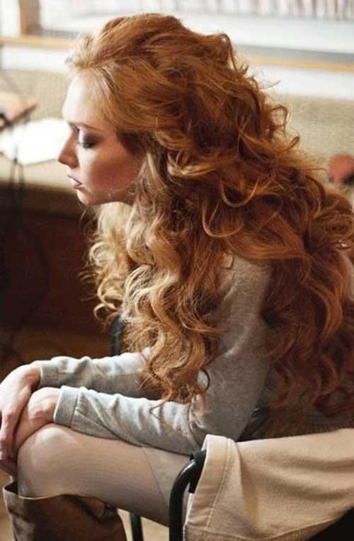 Long blonde haircuts